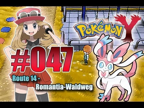 Let's Play Pokemon Y- Nr.47 - Route 14 - Romantia-Waldweg - [Deutsch] [HD]