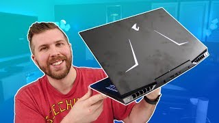 Aorus 15 Unboxing, Benchmarks, and Stress Testing! RTX 2070, 240 Hz, i7-9750H! Only $2199!
