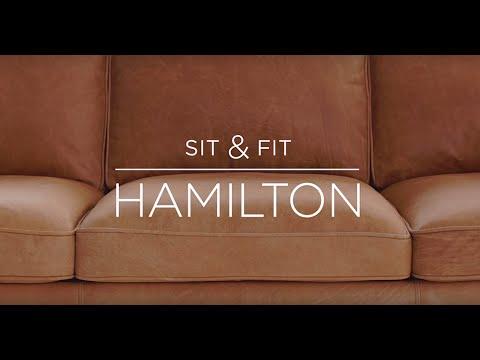 Sit & Fit: Hamilton Leather Sofa