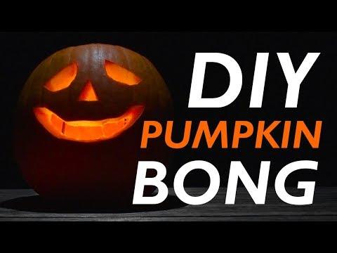 How To Make A DIY Pumpkin Bong