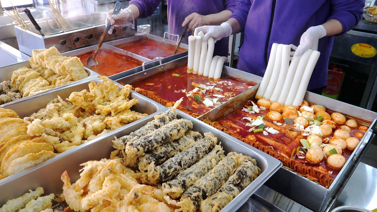 역대급 분식집이 떳다 ! 격이 다른 수제튀김, 호떡 청주 떡보라 | Homemade Tteokbokki, Fried, Fishcake | Korean Street food