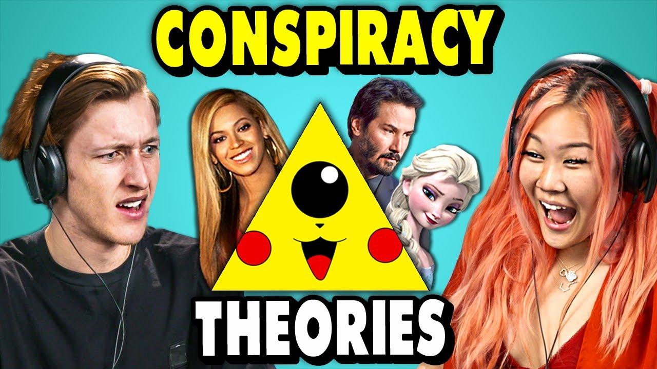 Craziest Pop Culture Conspiracy Theories    The 10s (React)