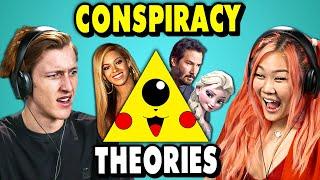 Craziest Pop Culture Conspiracy Theories  | The 10s (React)