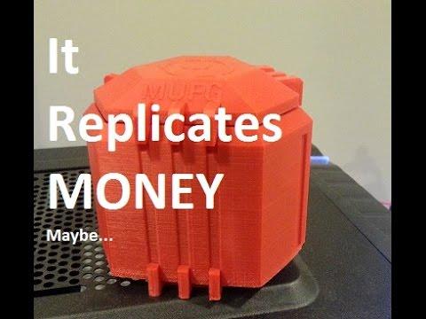 3D Printed Ingress MUFG Capsule
