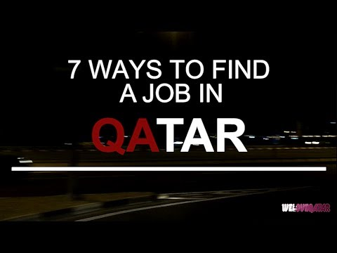 Qatar job hunting