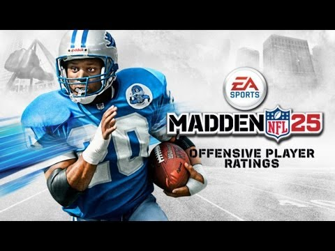 Madden 25 Top 5 Offensive Player Ratings