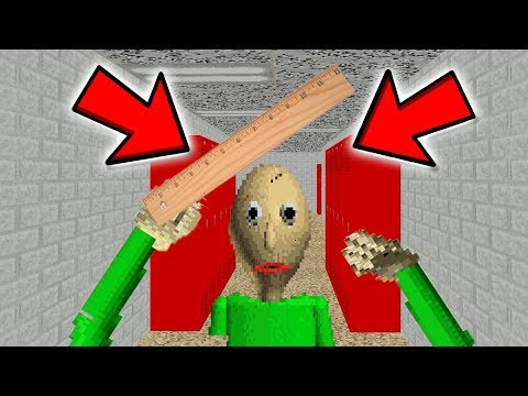 *NEW* PLAY AS BALDI! (Baldis Basics in Education and Learning)
