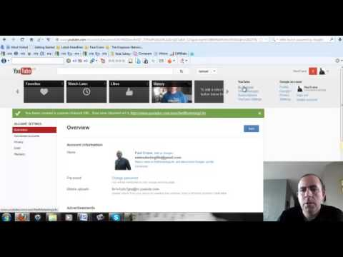 How To Change Your Youtube url Update April 2013