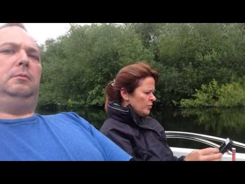 A trip down The Lee Navigation in an electric boat.