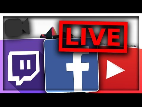 How to Livestream to YouTube/Twitch/Facebook on your PHONE! Livestreaming Tutorial for iPhone - 2018