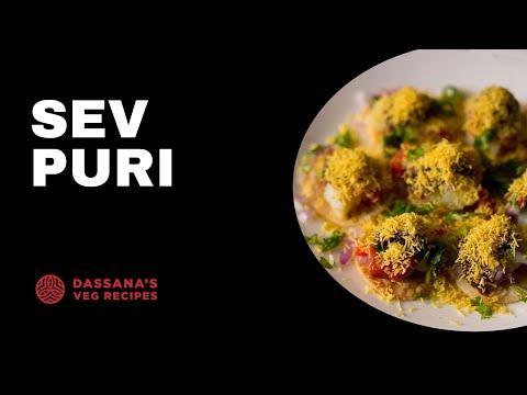 sev puri recipe - how to make mumbai sev puri recipe