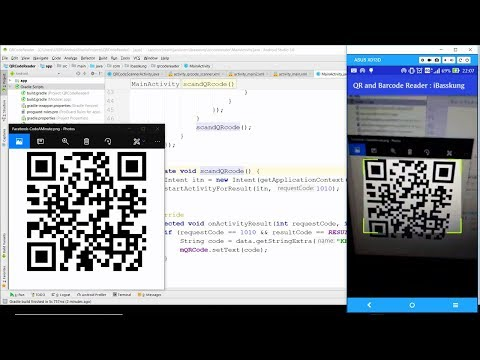 Android QR Code and Barcode Scanner (Test)