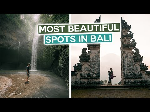 Most Beautiful Spots In Bali, Indonesia | YOU NEED TO COME HERE!