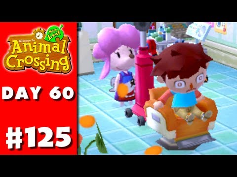 Animal Crossing: New Leaf - Part 125 - Contacts (Nintendo 3DS Gameplay Walkthrough Day 60)