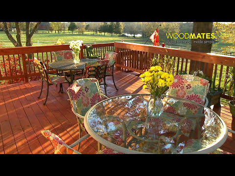 How to Stain Your Deck - Mr. LongArm Woodmates®
