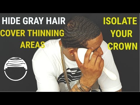 360 WAVES: HOW TO ISOLATE YOUR CROWN WITH CREME OF NATURE BLACK PERFECT EDGES