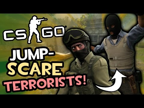 JUMPSCARE TERRORIST! (Counter-Strike: Global Offensive Funny Moments)