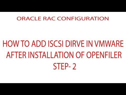 ADDING ISCSI DIRVE IN VMWARE|ORACLE RAC|STEP 2