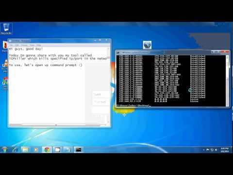 tcpkiller - Windows TCP Killer