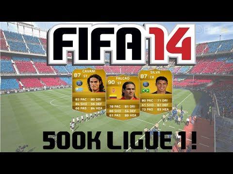FIFA 14 Ultimate Team | 500k Ligue 1 Squad Builder ft. Falcao, Thiago Silva and Cavani!
