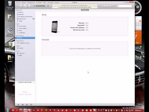 Downgrade para IOS 5.1.1 a 5.1 con Redsn0w