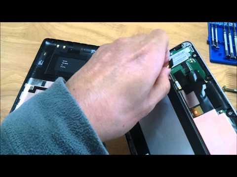 バッテリー交換 Nexus 7 Remove and Replace Battery
