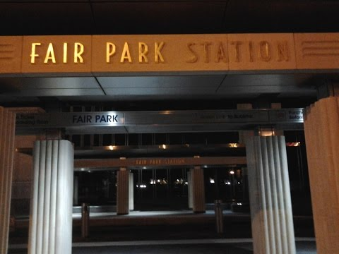 First DART train to DFW Airport (Part 1: Fair Park Station)