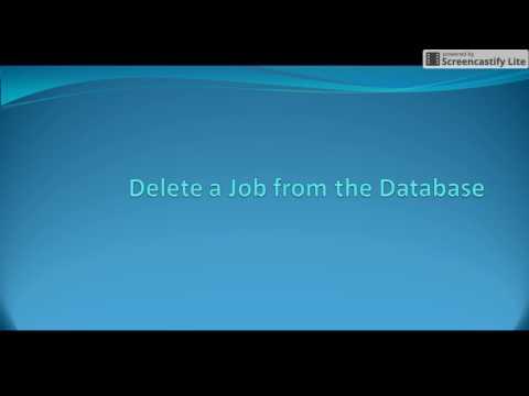 Autosys Tutorials: delete_job attribute