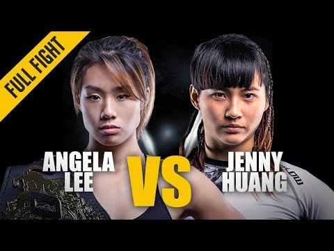 Xxx Mp4 ONE Best Fights Angela Lee Vs Jenny Huang Angela Lee In Her First Title Defense Mar 2017 3gp Sex