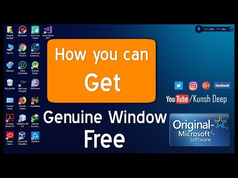 How to get or download genuine windows 10 from Microsoft website