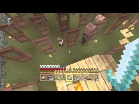 How to get villagers to spawn | minecraft xbox one |