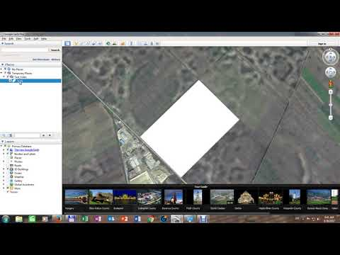 How to locate agriculture field in Google Earth