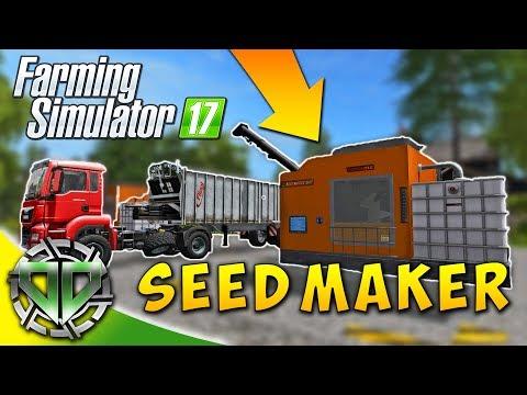 Snettertons Farm: Seed Maker 2K17! : Farming Simulator 17 : EP3