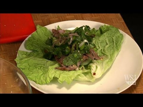 How to Make Grilled Pork & Cabbage Hand Rolls