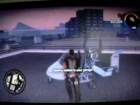 How to get UFO, Gyro Daddy, and Peewee on Saints Row 2
