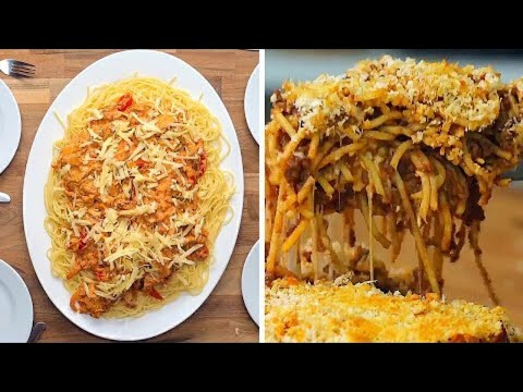 How To Make Spaghetti 12 Ways  | Twisted