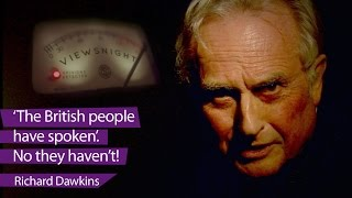 Richard Dawkins on Brexit: No, the British people have NOT spoken - Viewsnight