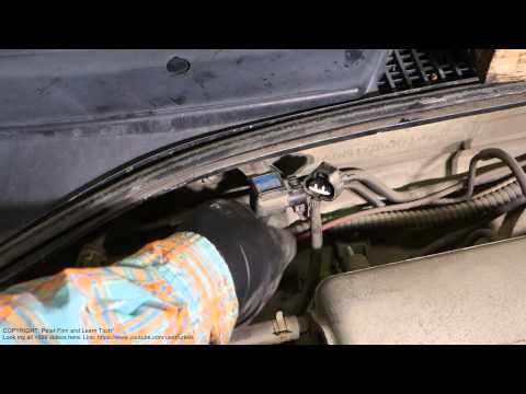 How to replace MAP sensor in Toyota Corolla car. Years 1990 - 2002