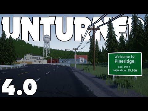 Welcome to Pineridge! 4.0 is FREE! - Unturned 4.0 Devlog #008!