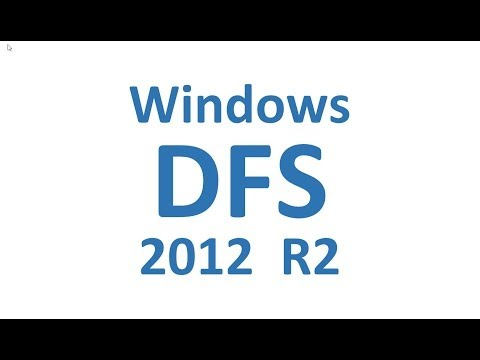 DFS (Distributed File System) 2012 R2 SP0, Lab Overview
