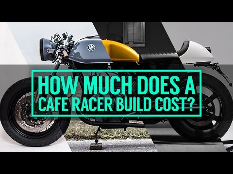 How much does it cost to build a cafe racer motorcycle?