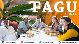 FAGU Village Food + Cultural Tour | Bhang ke Pakode + CLASSIC Himachali Dishes
