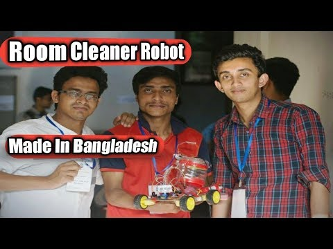 Room Cleaner Robot Made In Bangladesh!