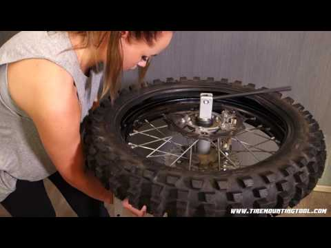 How to change a motocross tire easily? TMT4 Lite