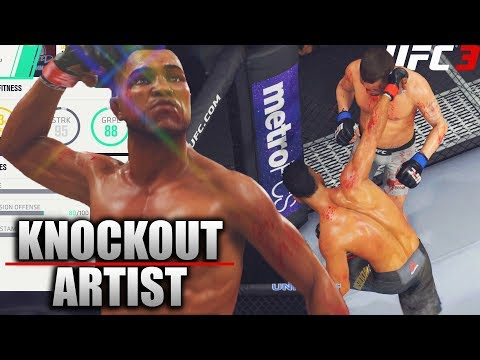 Legendary Champion In The Making! Knock Out Artist! EA UFC 3 Career Mode!