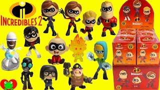 The Incredibles 2 Movie Funko Mystery Minis Full Set