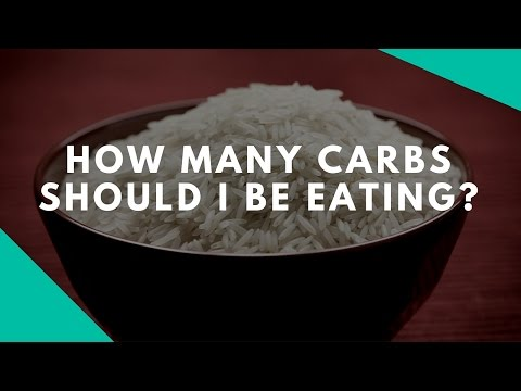 How Many Carbs Should I Be Eating?