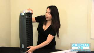Idylis IAP-GG-125 Tower Air Purifier Filter Change for Part # FIL-GG-125