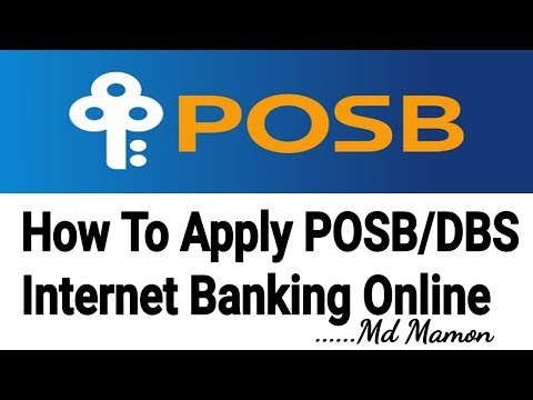 How to Apply Ibanking for POSB Account