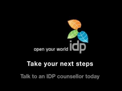 IDP Education - Take your next steps